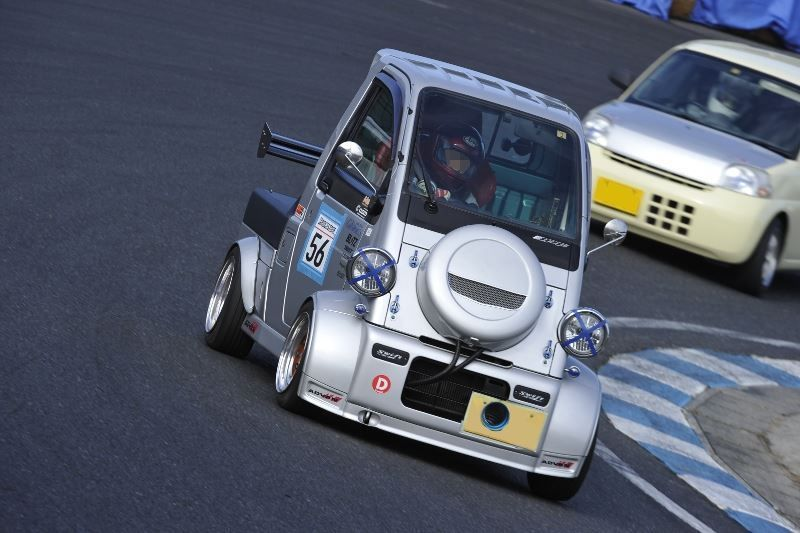 Daihatsu Midget Ii Race Car These Have Been On Hirocima