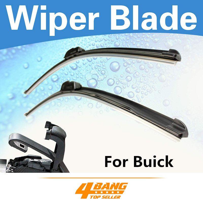 2pcs 22 22 Frameless Bracketless Wiper Blades For Buick Regal Century Park Avenue Rainier Lesabre Allure Lacrosse W Wiper Blades Windshield Wipers Windshield
