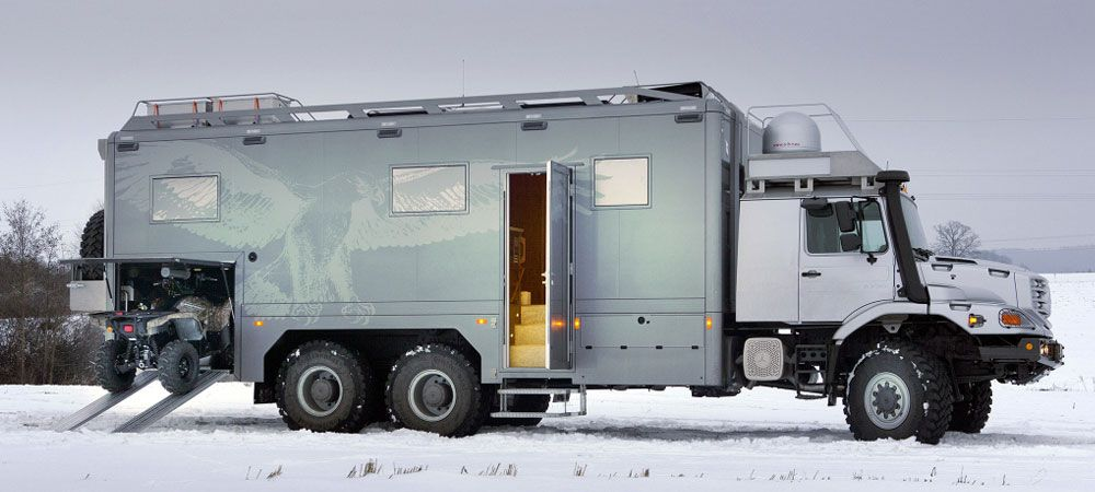 The Mercedes Benz Zetros 6x6 Is The Perfect Blend Of 4x4 And Rv