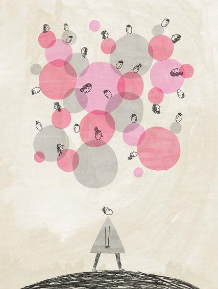 Quirkyalone Is Still Alone Dibujos Ilustraciones Arte