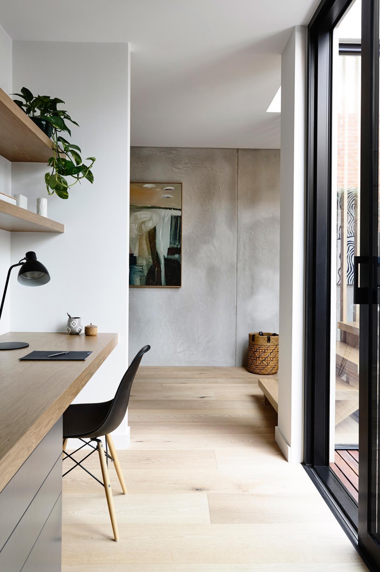 ELWOODTOWNHOUSE16 Discount interior doors, Study nook
