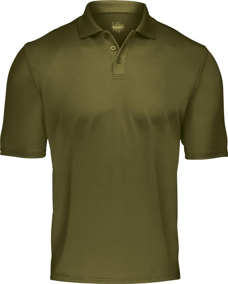 Under Armour Men's Tactical Range Polo-390Marine OD Green-Style#1005492:  Price