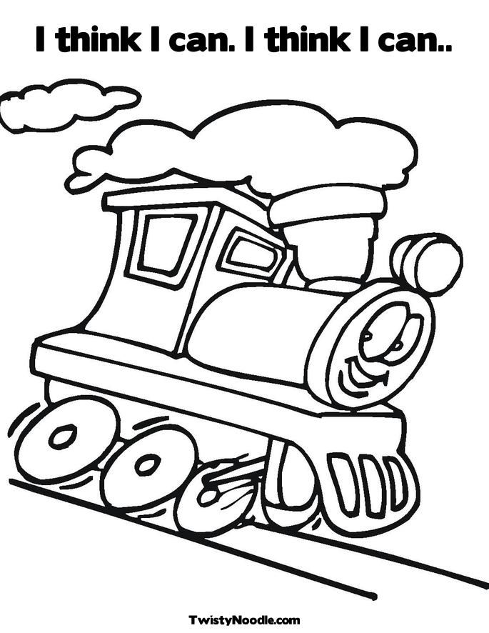 The Little Engine Train Coloring Pages T Is For Train