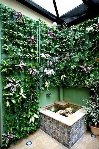 jardn vertical exterior jardines verticales pinterest jardn vertical jardn y plantas