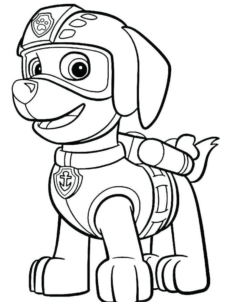 Paw Patrol Coloring Pages Ryder The Following Is Our Collection Of Easy Paw Patrol Colorin Paw Patrol Coloring Pages Paw Patrol Coloring Paw Patrol Printables