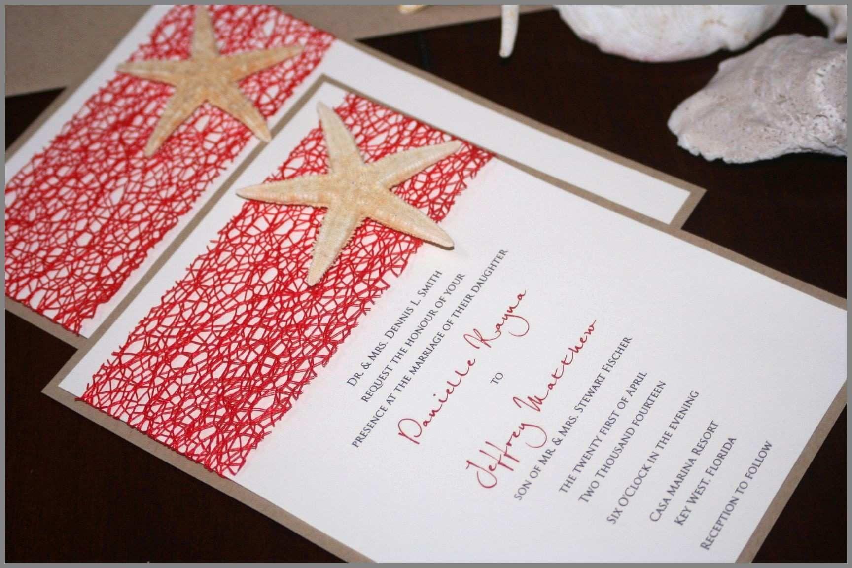 20 Wedding Invitations Diy Beach