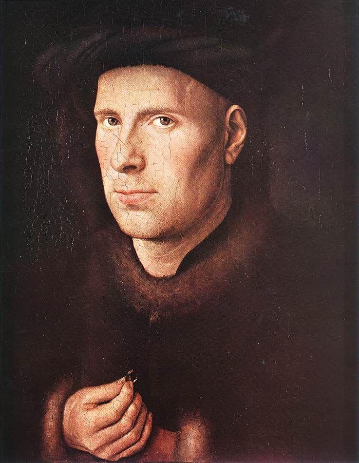 Jan van Eyck >> Portrait of Jan de Leeuw | La renaissance ...