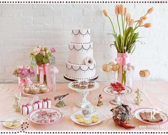 Tortas para mesas dulces de 15 a os 2 dora pinterest for Mesa de dulces para 15