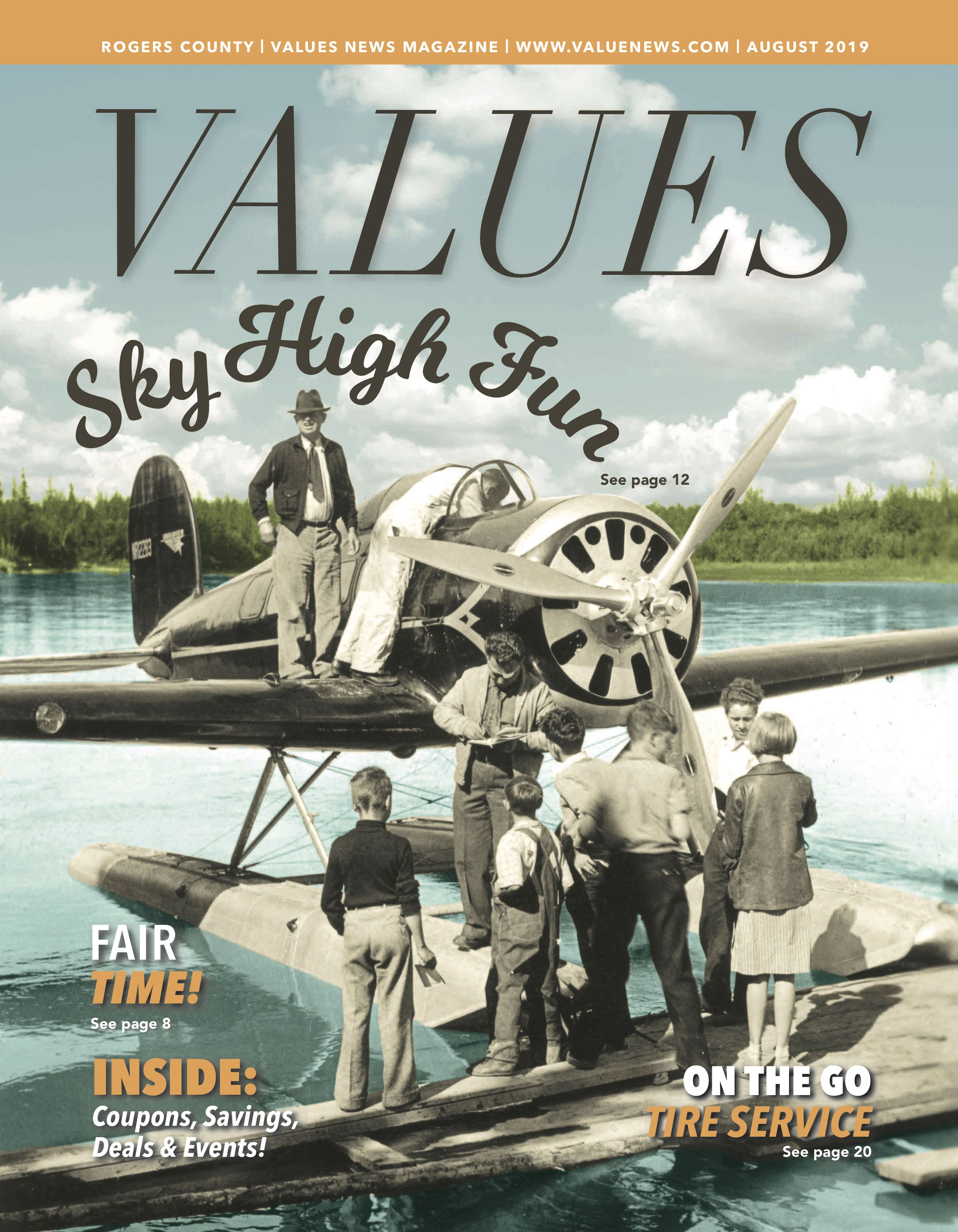 Values August 2019 Rogers County Marketing Solution Local Business Owner News Magazines
