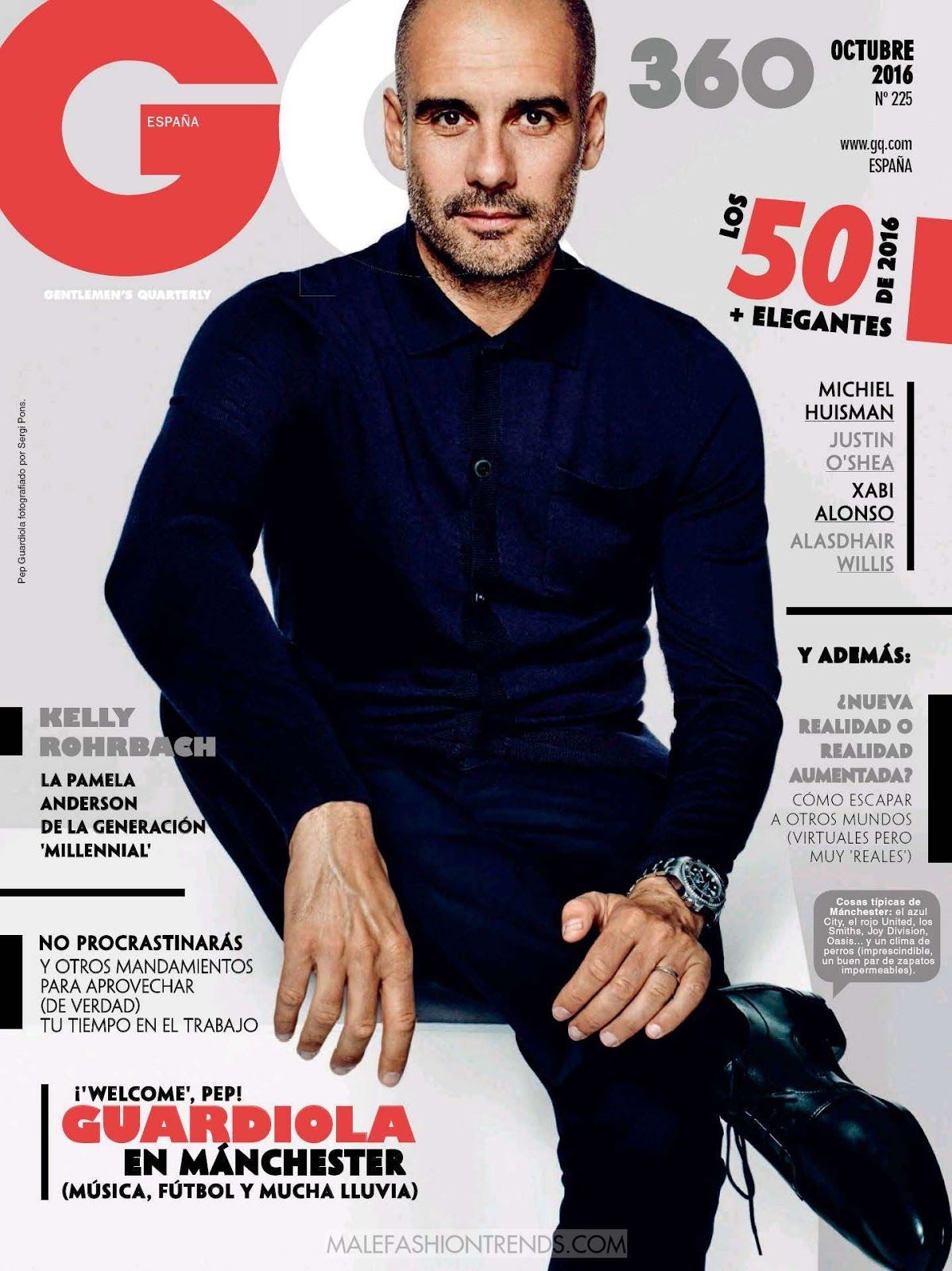 Gq Magazine The Secrets Of R Kelly: Pep Guardiola Por Sergi Pons Para GQ España
