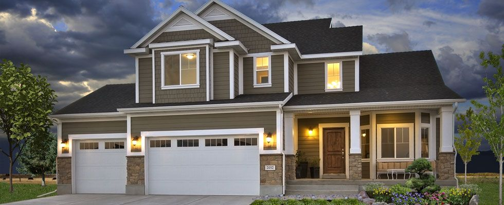 Ivory homes decorated model homes in washington county for Utah house