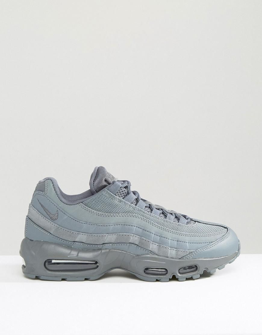 factory price 9485e b51d1 Nike  Nike Air Max 95 Essential Trainers 749766-012 at ASOS