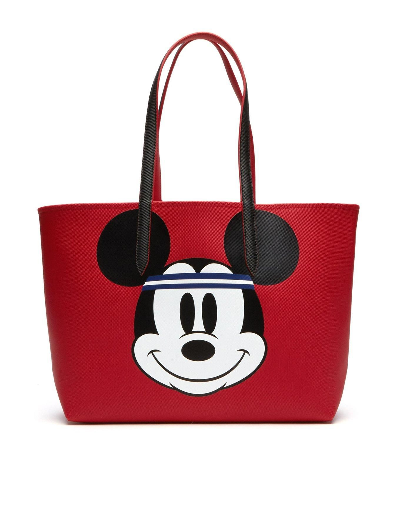a5619280f162 Lacoste Holiday Collection Mickey Shopper Reversible Tote Bag - Red ...
