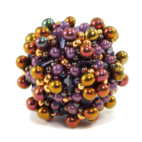 Organic Inspirations for Beaded Beads with Cindy Holsclaw - Daily Beading Blogs - Blogs - Beading Daily