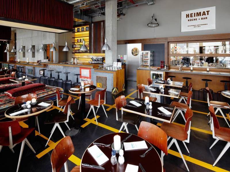 25hours Hotel Hamburg Hafencity Die Heimat Küche + Bar ...