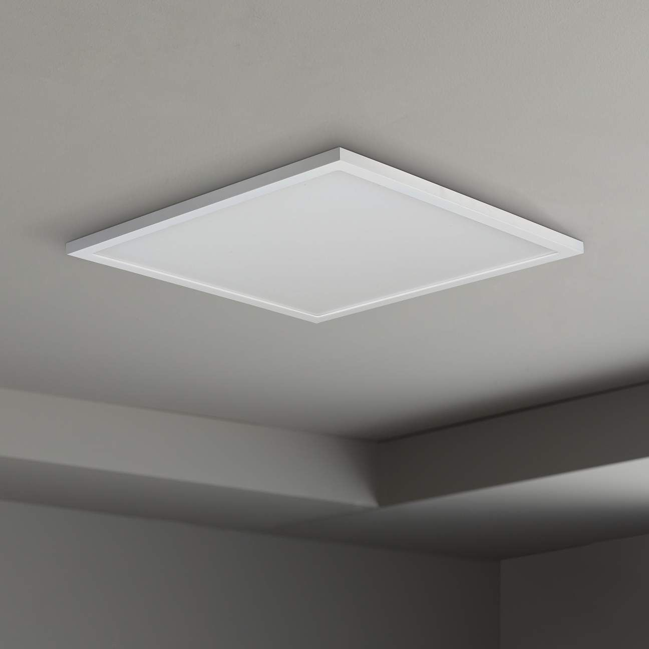 Maxim Wafer 15 Wide White 3000k Led Square Ceiling Light 53v45 Lamps Plus In 2021 Ceiling Lights Square Ceiling Lights Lamps Plus