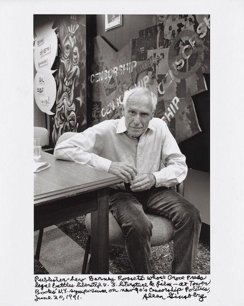 Cat. 80 Publisher-hero Barney Rosset, 1991