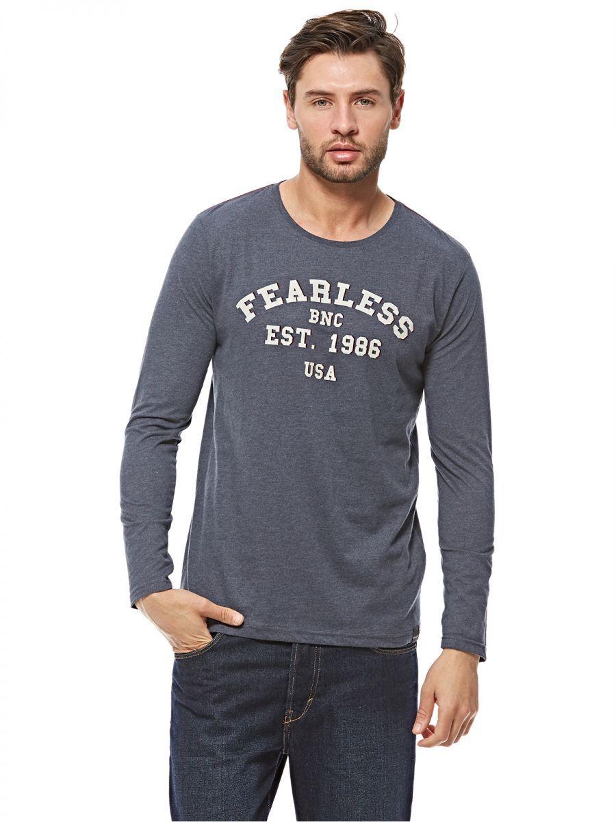 ccb35151f Buy BROADWAY Grey Round Neck T-Shirts For men - Tops | KSA | Souq