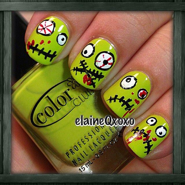 halloween by elaineqxoxo #nail #nails #nailart | nail art ...