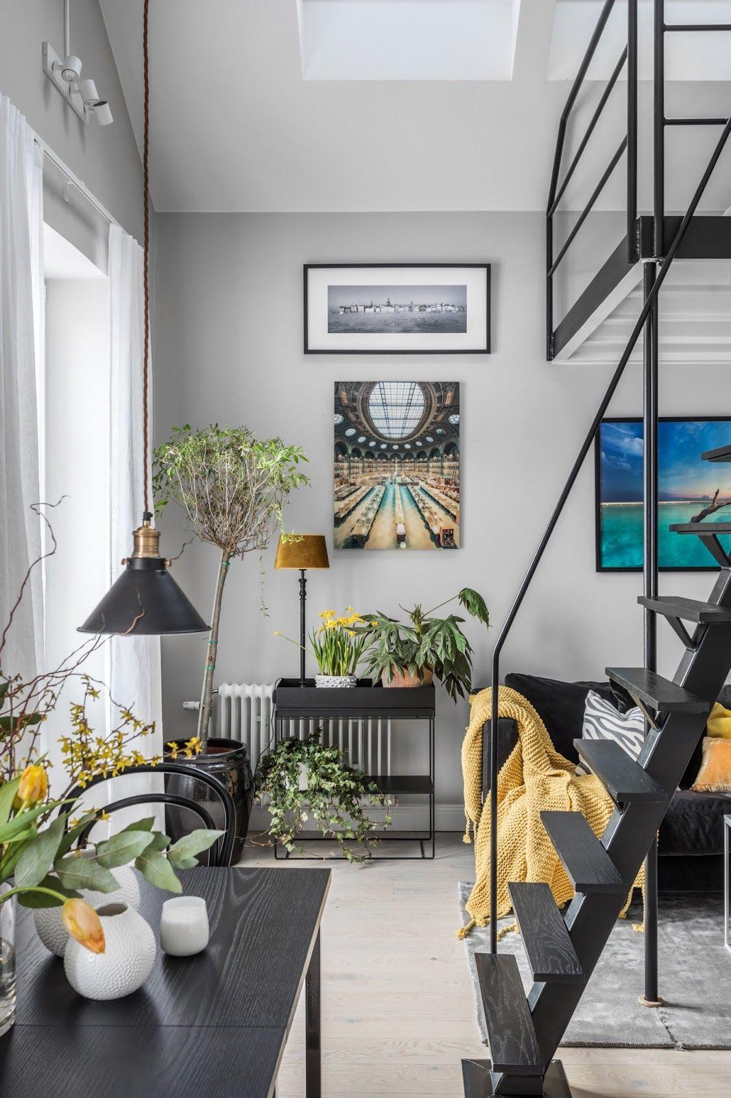 Dormitor deasupra livingului intr  garsonier de numai  jurnal design interior also rh pinterest