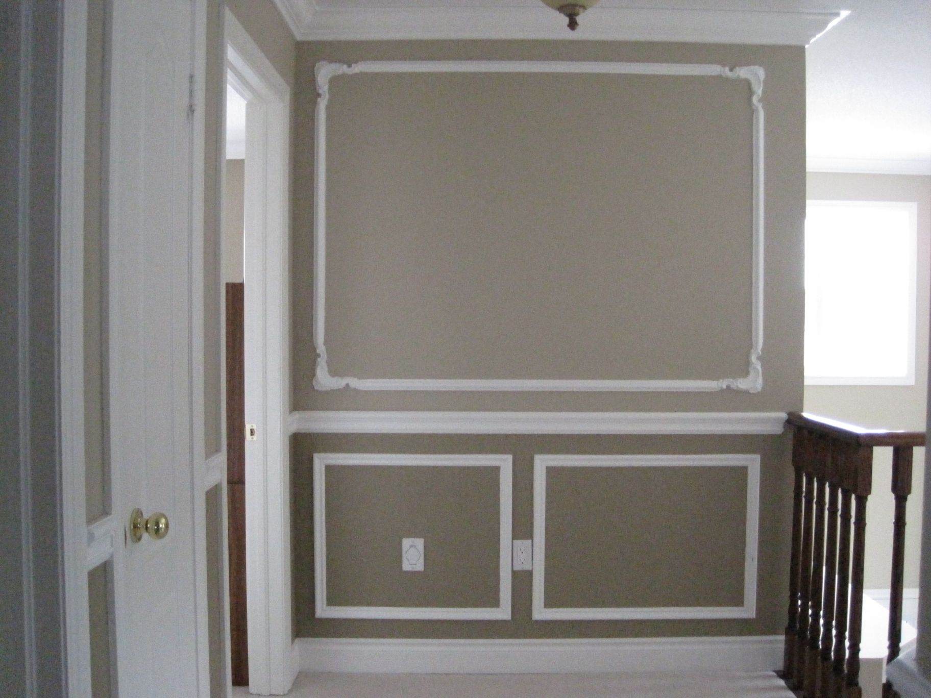 custom trim ideas Here are some chair rail profiles. All