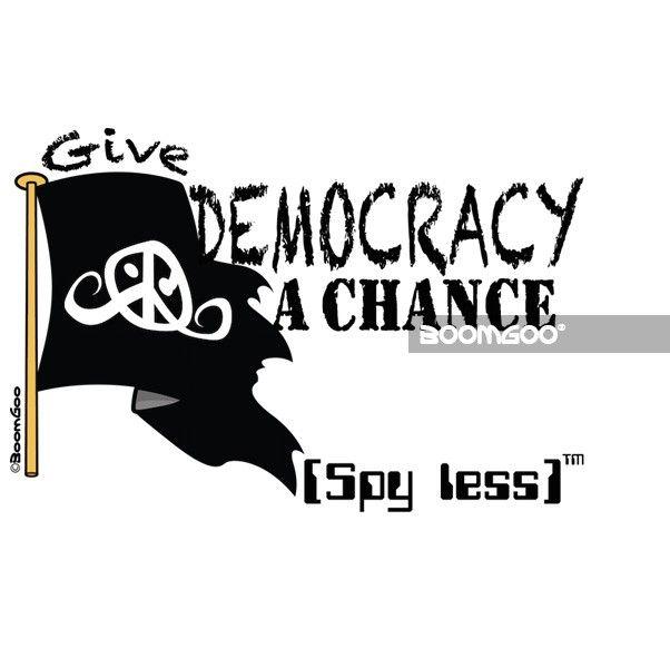 "Freedom flag ""Democracy chance"" (6400)"