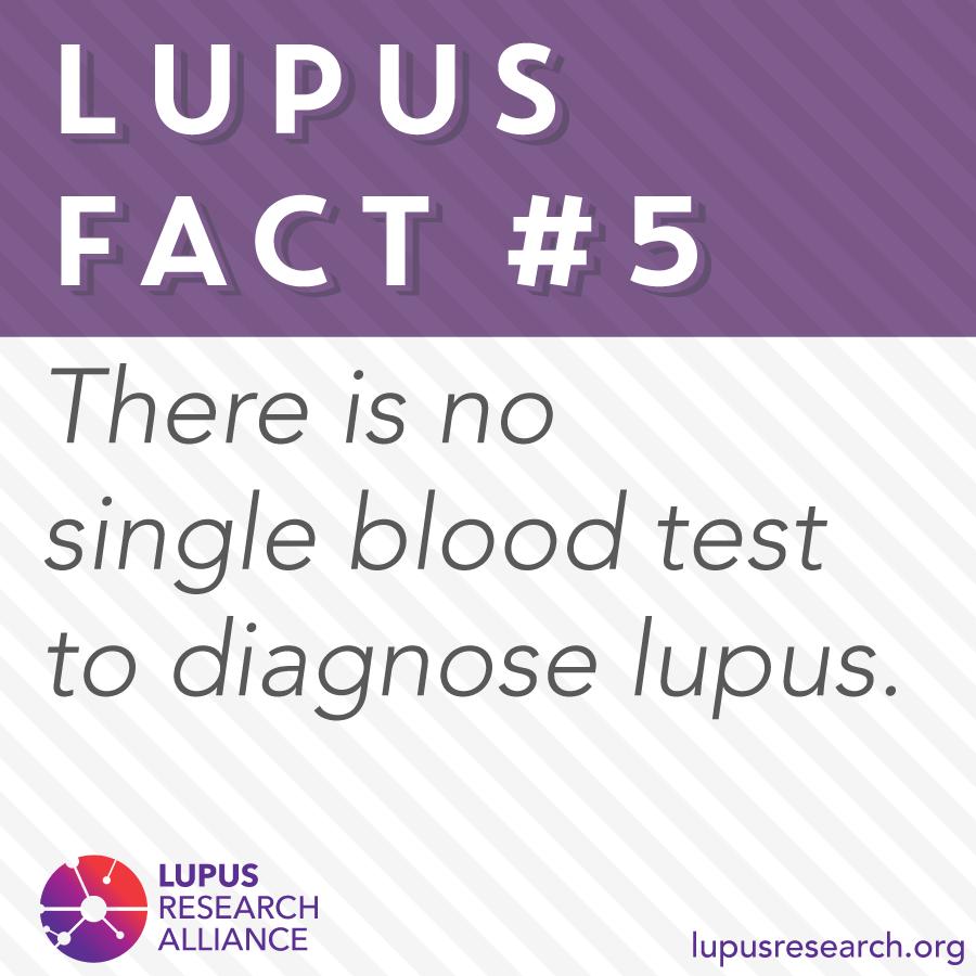LupusFact FactFriday Diagnosing lupus, Lupus facts
