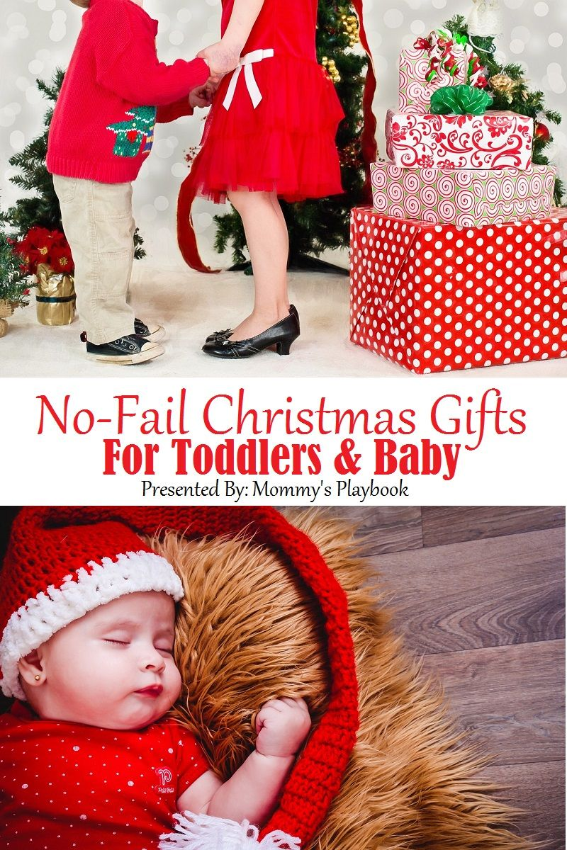 No-Fail Christmas Gifts for Toddlers and Babies! #ChristmasGifts ...
