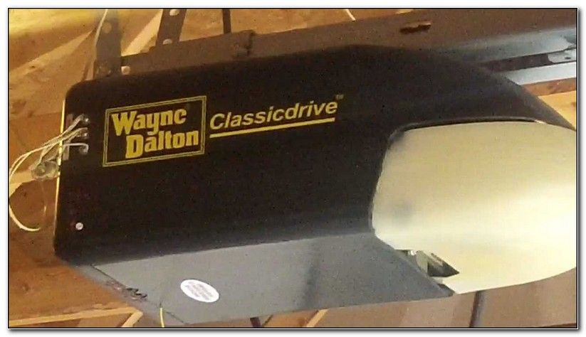 Wayne Garage Door Opener Wayne Dalton Garage Doors Garage Door Opener Troubleshooting Garage Doors