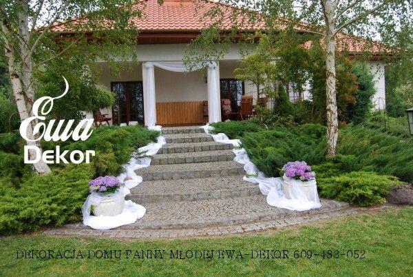 Galeria Dekoracje ślubne Weselne Bydgoszcz Toruń Wedding Decorations Outdoor Structures Wedding