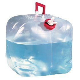 Reliance Products 5 Gallon Poly-Bagged Fold-A-Carrier Collapsible Water Carrier