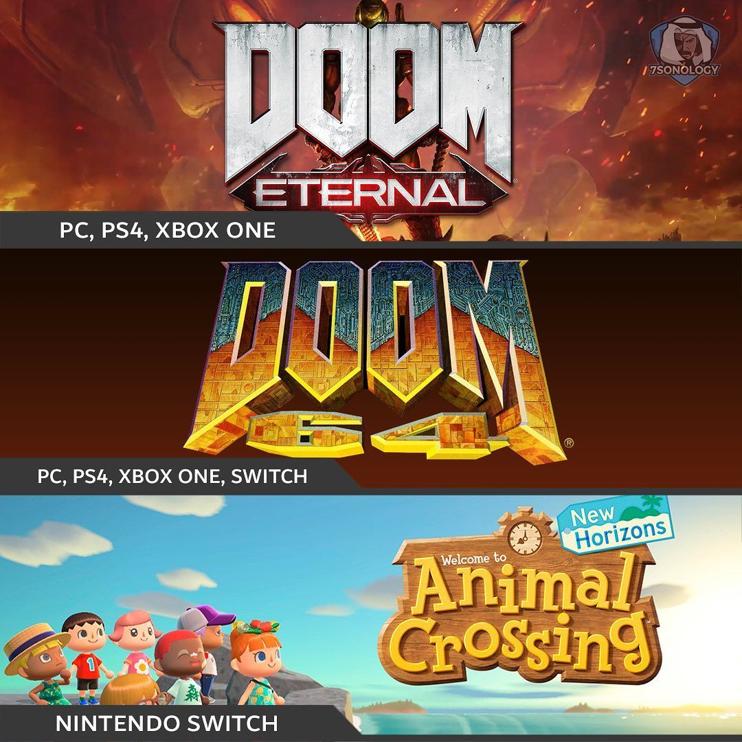 متوفره اليوم رسميا DOOM Eternal PS4 PS4 XBOX ONE DOOM 64