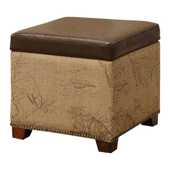 Fantastic Kenya Ottoman In Brown Nfm 179 Ea Use Two For Sofa Gamerscity Chair Design For Home Gamerscityorg