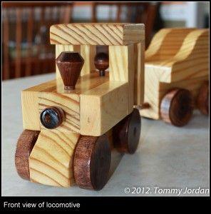 Handmade Wooden Trains Detailed Diy Instructions April