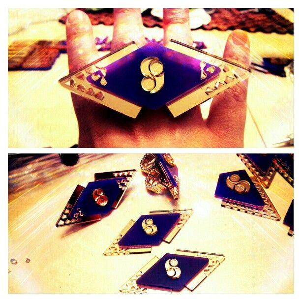 Dope Shaiem Jewelry Double Finger Ring. $35 at www.shaiemjewelry.com