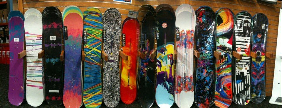 The Snowboard Wall Country sports, Snowboard shop, Kids