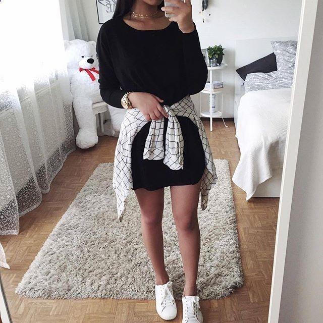 Cute outfit! Yay??? Credit Thanya ropa Pinterest Ropa, Armario