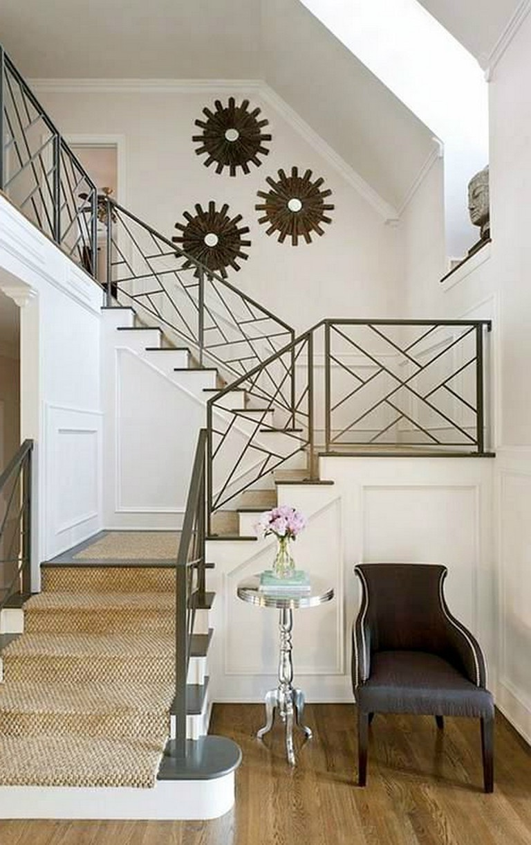45+ Awesome Stair Railing Ideas