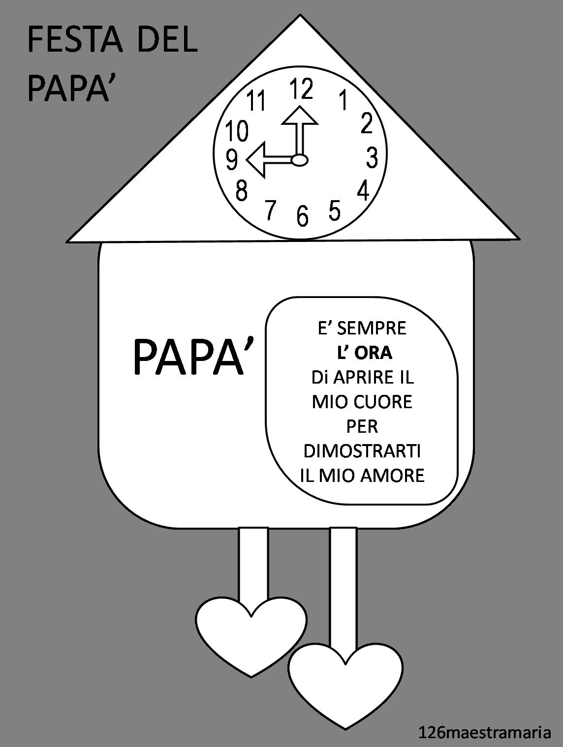Disegni Da Colorare E Stampare Per Il Mio Papa.Risultati Immagini Per Festa Del Papa Lavoretti Da Colorare