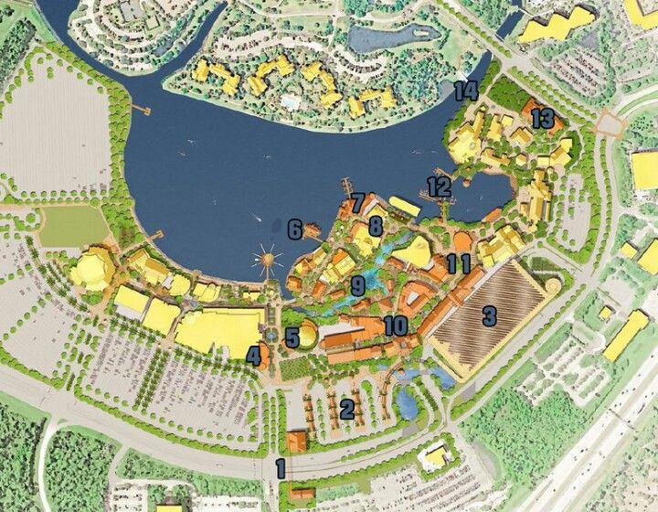 Disney Springs Overhead plans | Disney Love | Pinterest ...