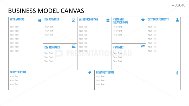 Business model canvas ppt bizmodel pinterest business model business model canvas ppt flashek