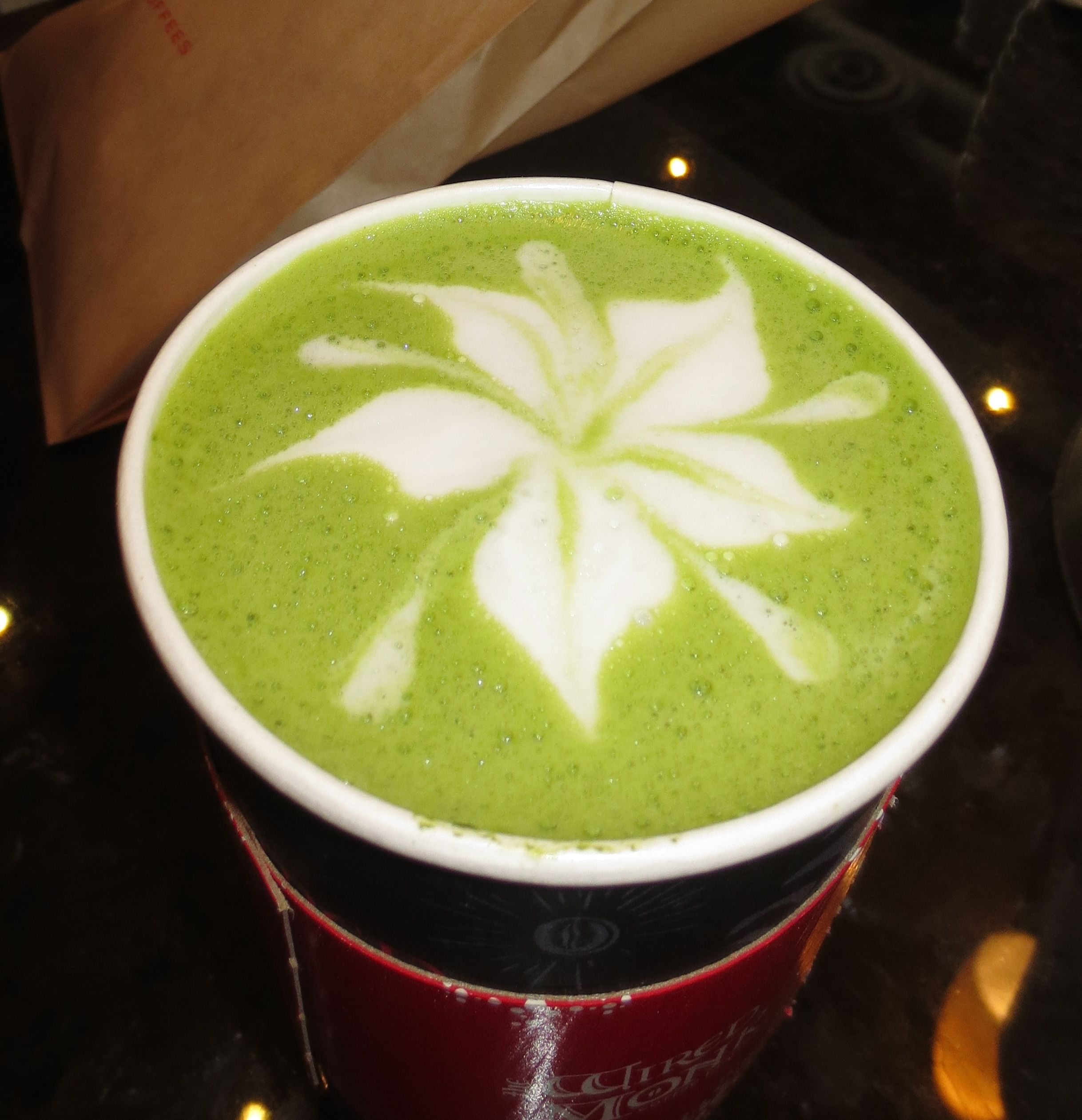 Matcha Latte Art! By Me ♥ (Patricia) Latte art, Matcha