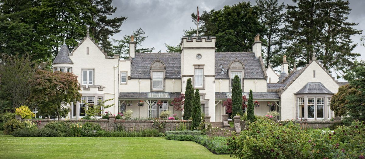 Douneside House The Scottish Highlands A Luxurious Hotel Stay In Countryside