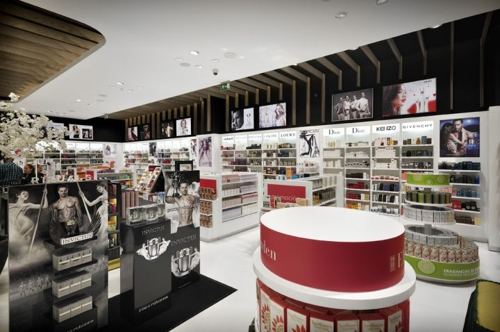 Fund Grube perfumery shop by Mostaza Design, Las Palmas – Canary Islands, Spain » Retail Design Blog