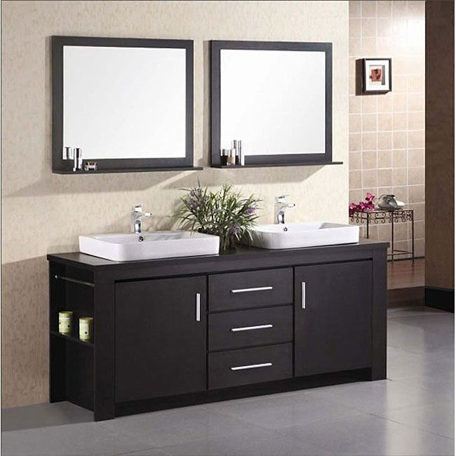 Online Shopping Bedding Furniture Electronics Jewelry Clothing More Modern Bathroom Vanity Double Sink Vanity Double Vanity Bathroom