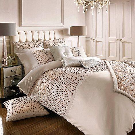 Kylie Minogue At Home Rose Gold Eva Duvet Cover Debenhams Rose Gold Bed Home Rose Gold Bedroom