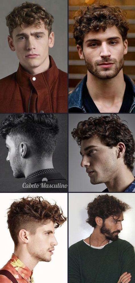Cortes cabello chino hombre 2017