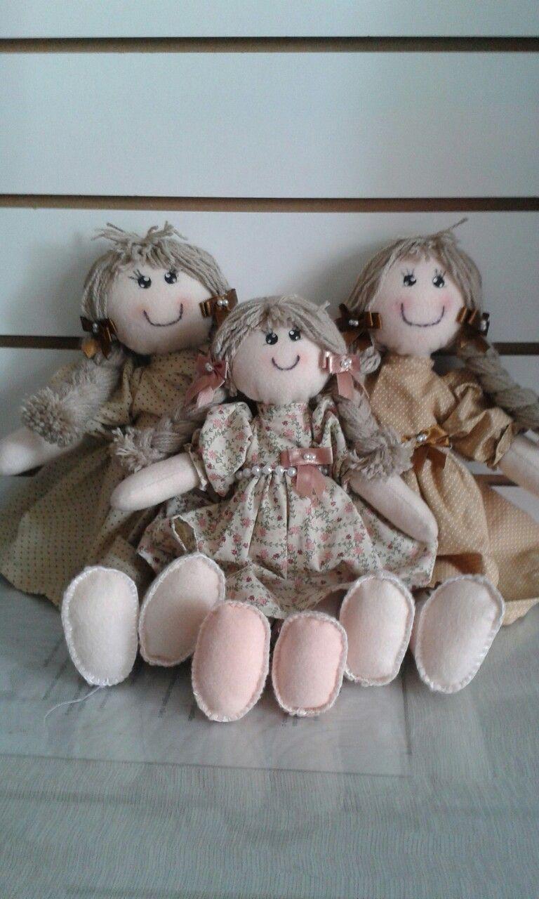 Lindas bonecas para decorar o quarto de sua princesa!
