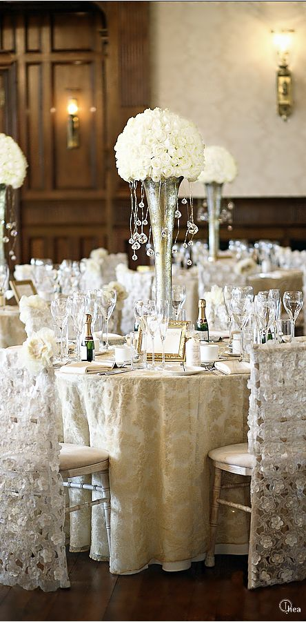 Wedding ○ Tablescape Reception Décor saludos Pinterest Boda