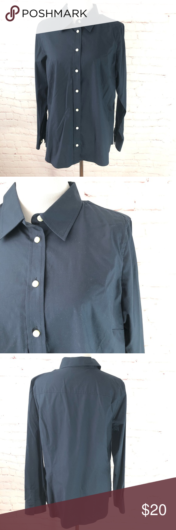 566aefc8 Old Navy Navy Blue Button Down Dress Shirt NWT Old Navy Navy Blue Button  Down Dress Shirt. This shirt is NWT and was purchased back when Old Navy  still sold ...